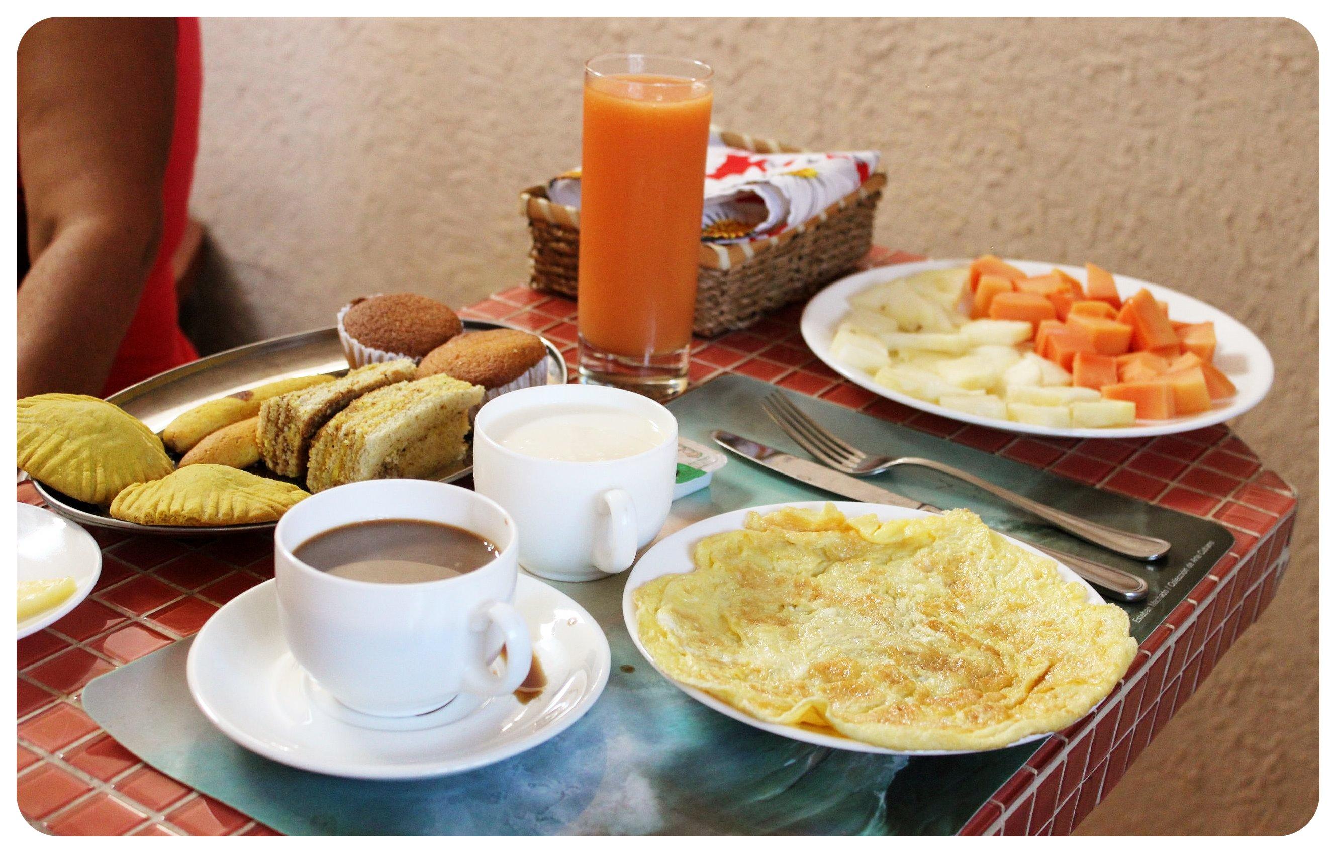 cuba breakfast