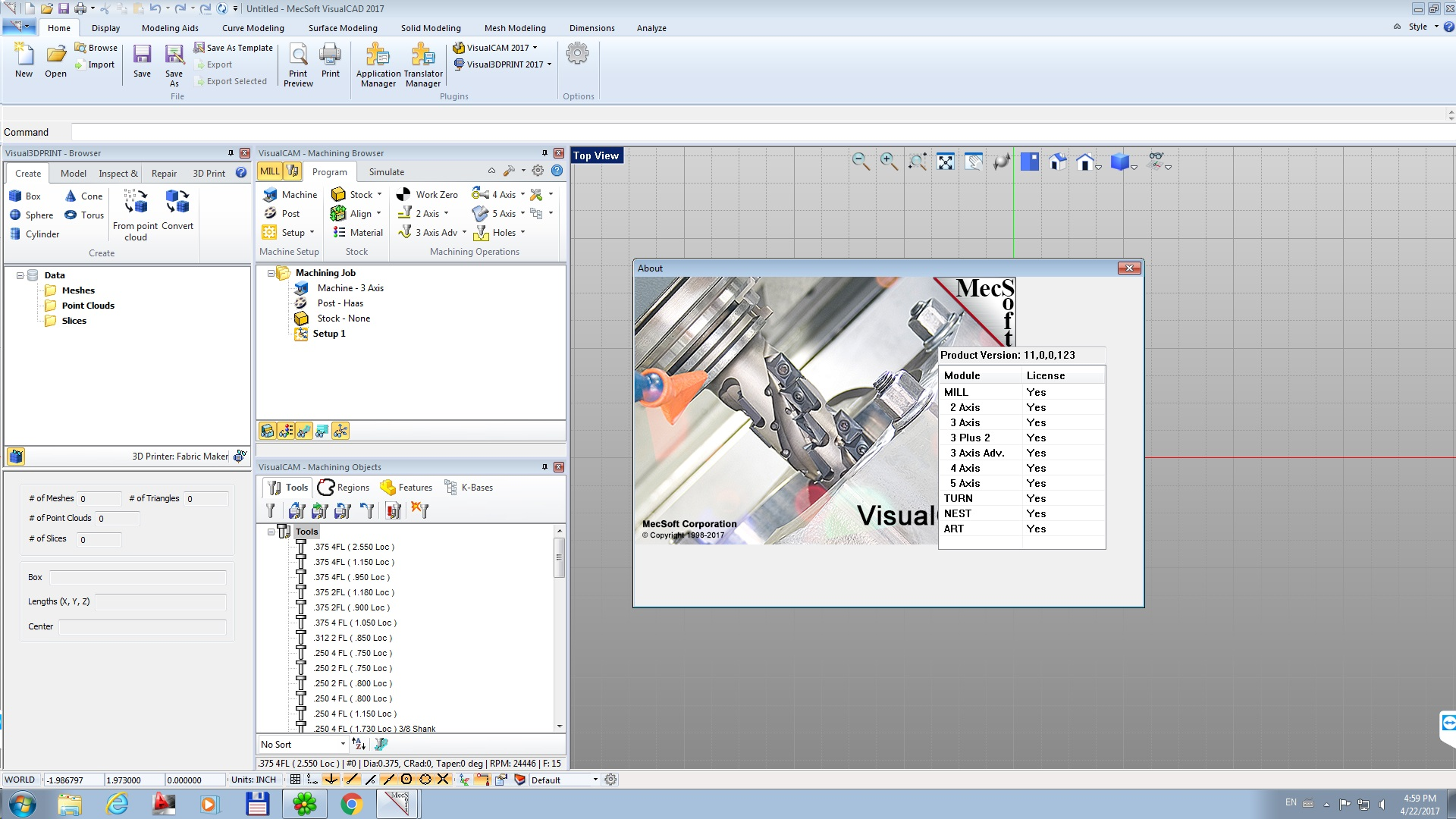 Working with MecSoft VisualCADCAM 2017 v6.0.413 full