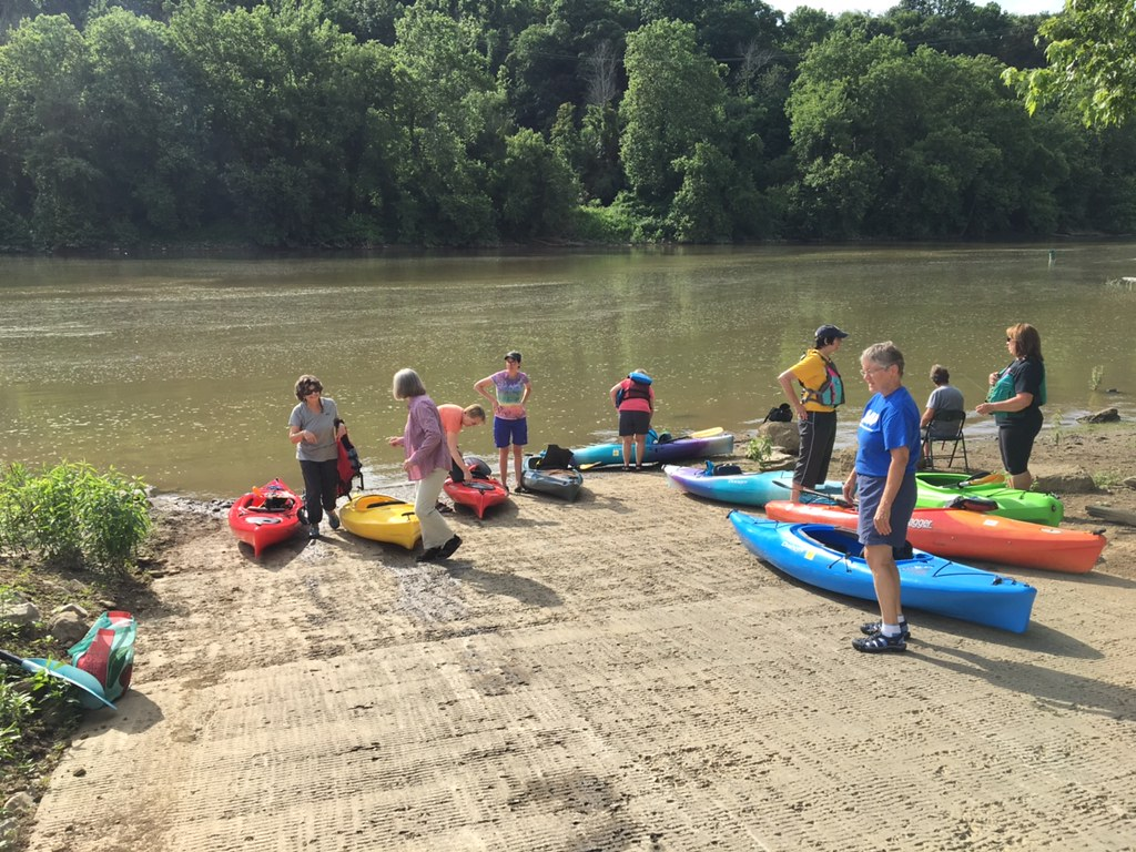 MAP- A guide to flatwater paddling in and around Morgantown, WV