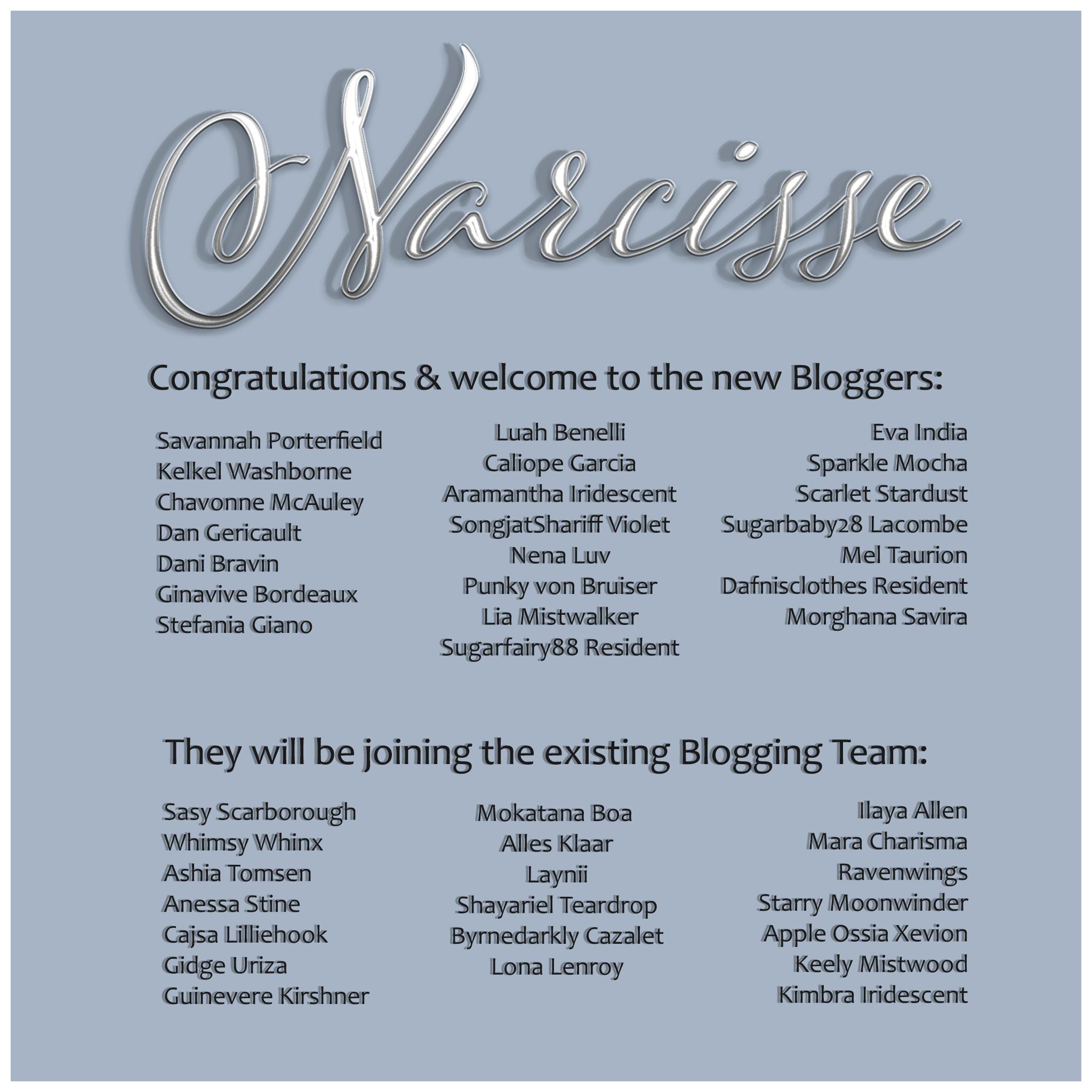 Congratulations Bloggers
