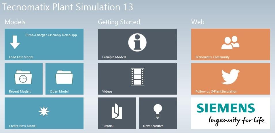 Siemens Tecnomatix Plant Simulation 13.0 Win64