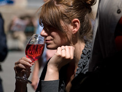 Lady and Drink