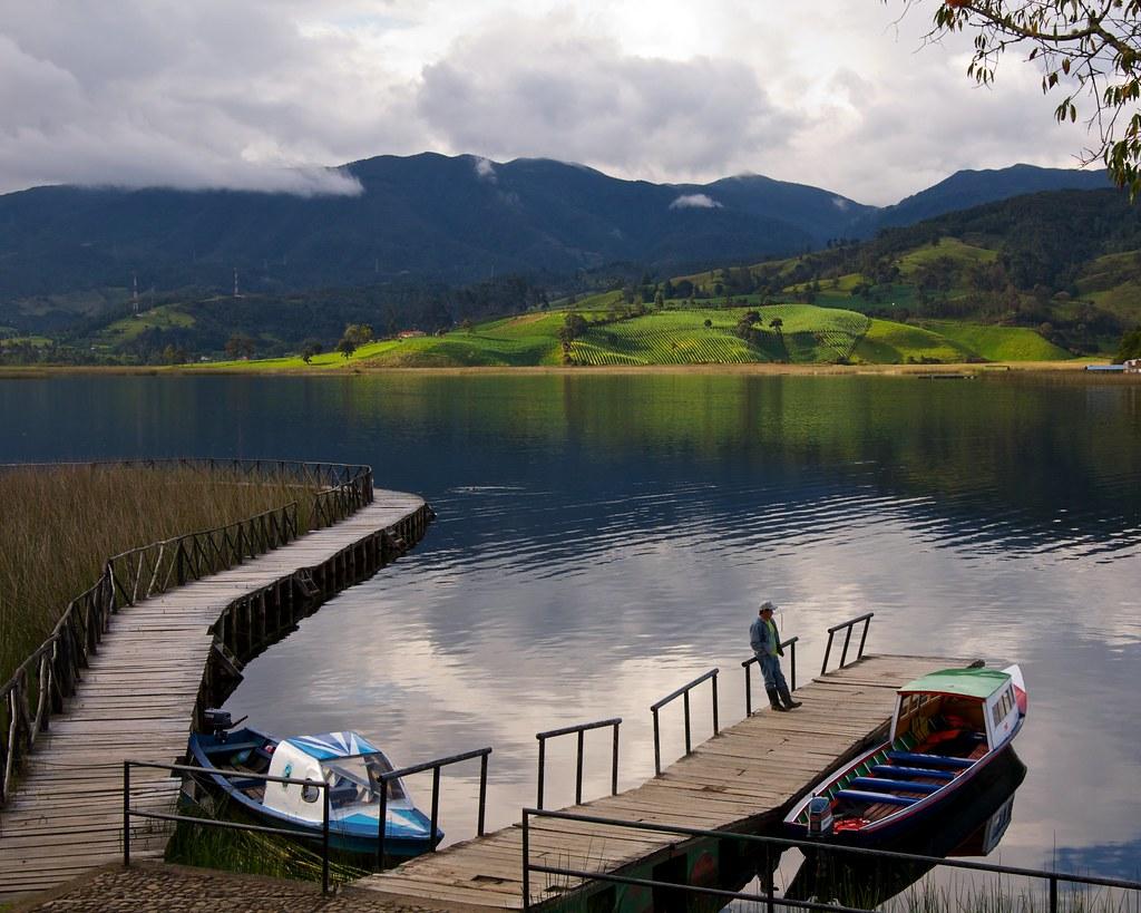 Laguna de la Cocha, Colombia