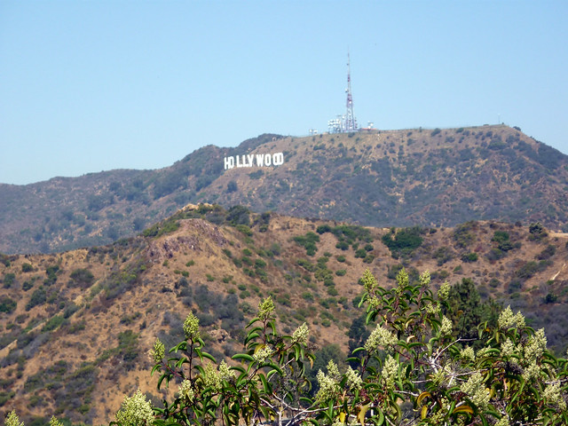 Hollywood, desde el Observatorio Griffith
