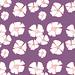 Purple flowers by Rebekah Leigh