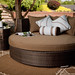 Tobago Collection Wicker Daybed
