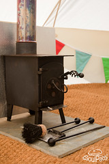 Woodburners can extend the use of your tent