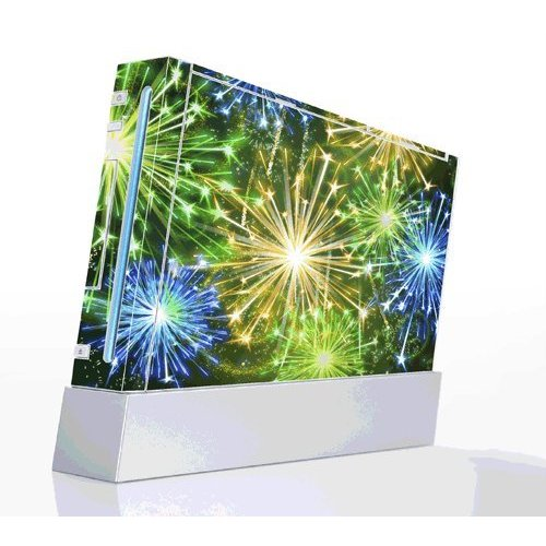 fireworks stickers for Nintendo Wii