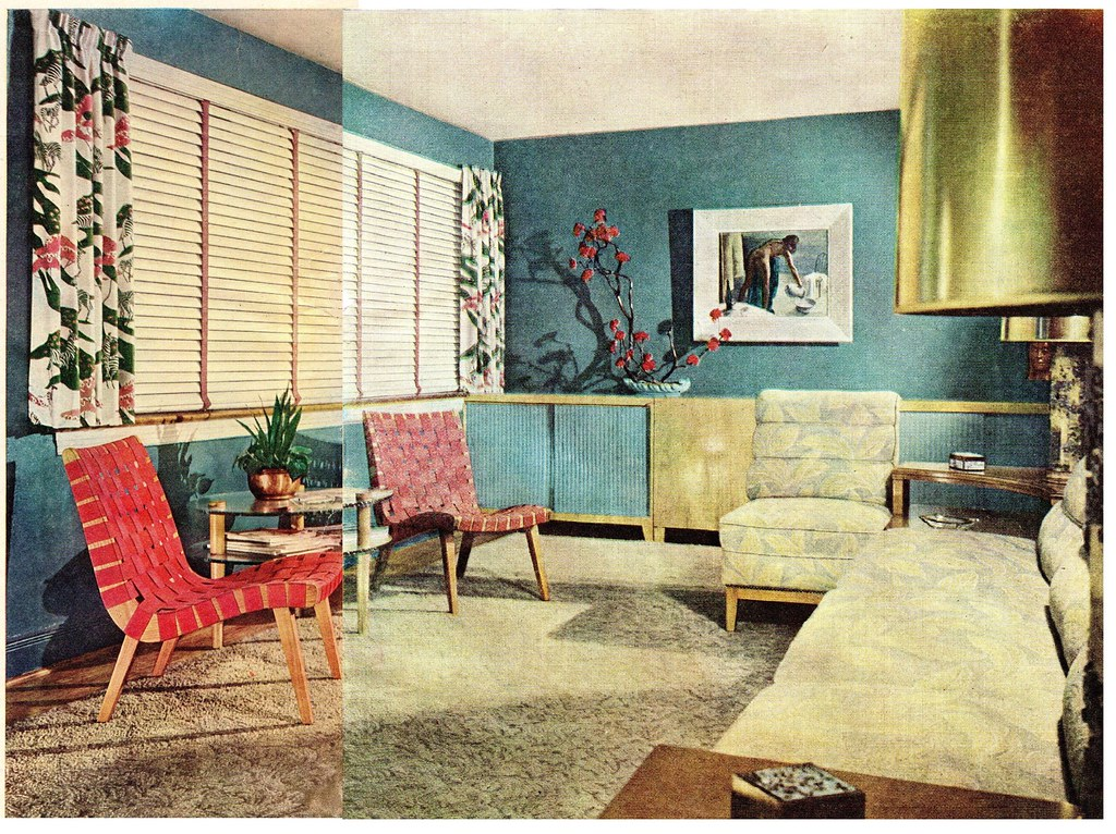 Late 1940s Living Room A Photo On Flickriver
