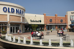 "Outlet Shopping Center ""The Walk"" in Atlantic City, NJ."