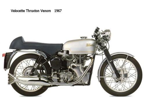 Velocette Thruxton Venom 1967