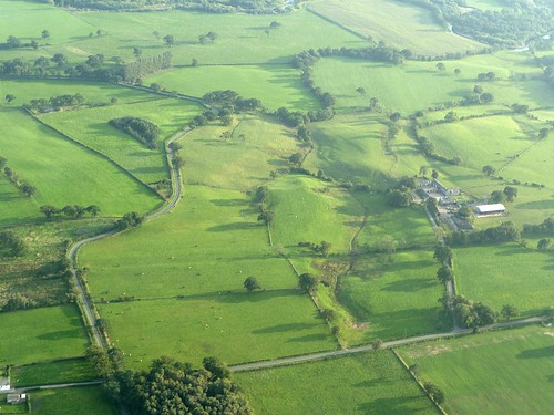 Wall Mile 54 from the air