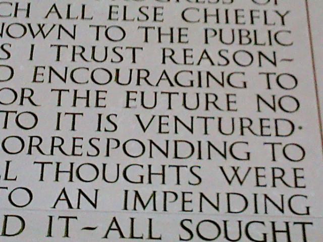 Lincoln Memorial Typo