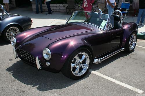 1965 Shelby Cobra replica - purple - fvl