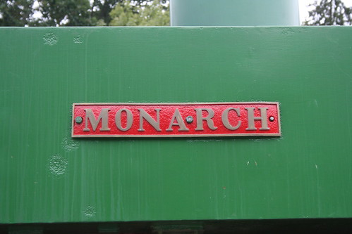 Monarch name plate