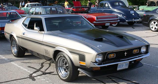 1972 Mustang Mach 1 Fastback Flickr Photo Sharing