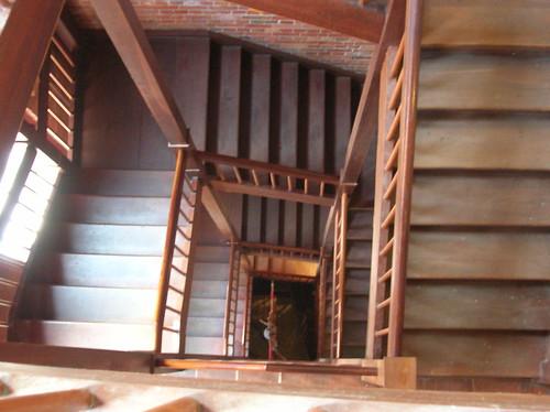 Holzfront Treppe