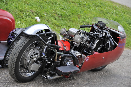 Triumph sidecar racer :: eu-moto classic vintage motorcycles © Egger 5527