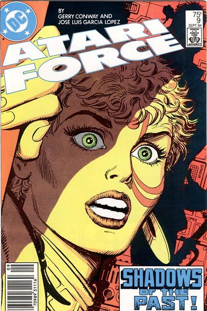 Atari Force 9 cover by José Luis García-López 1984