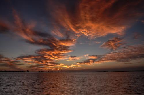 morning sky sun sunrise landscape dawn twilight northcarolina daybreak morningsky firstlight atlanticbeach moreheadcity tadsunrise sunrisedaily