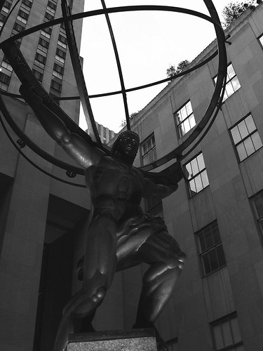 Atlas Man, NYC