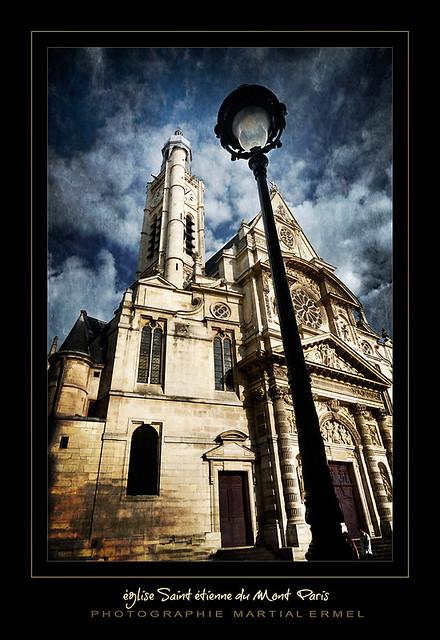 Église Saint-Étienne-du-Mont  Paris