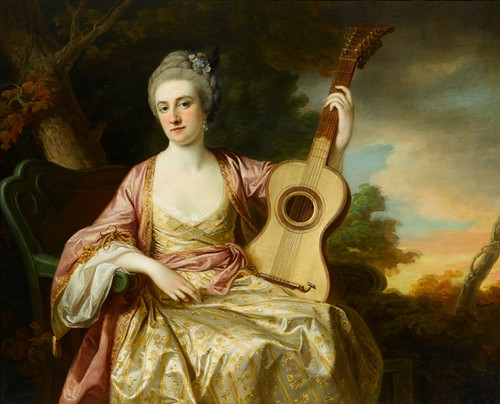 Cotes, Francis (1726-1770) - 1765 Maria Walpole, Countess Waldegrave, Later H.R.H. Duchess of Gloucester and Edinburgh (Sphinx Fine Art, London)
