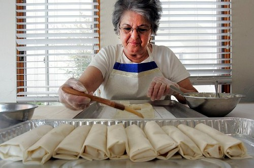 Months of preparation required to create dishes for Cardiff Greek festival