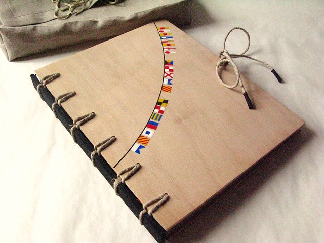 How To Make A Book Cover Binding ~ Secret belgian binding book with aucoumea wood covers