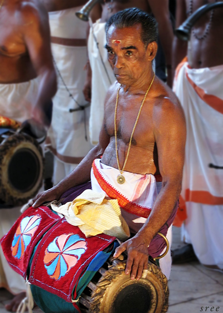 Panchavadyam instruments images
