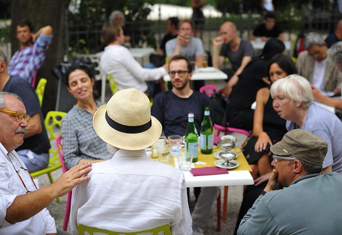 Venice Film Festival gathering