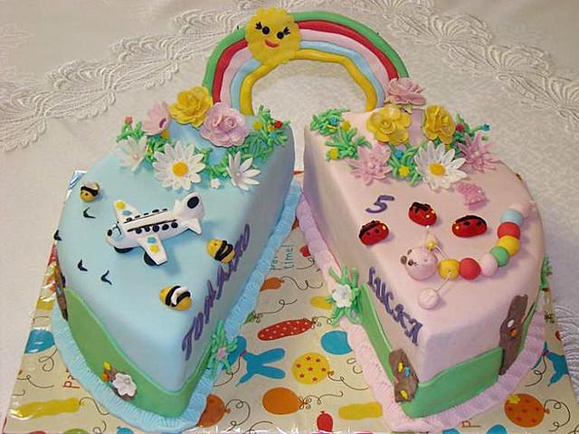 Torta K Narodenin 225 M Pre Dvojčat 225 Birthday Cake For Twins
