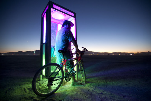 Psychedelic Phone Booth
