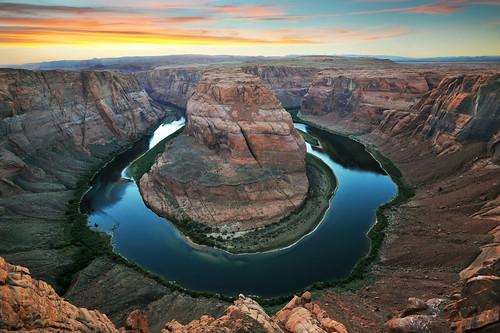 arizona river desert page coloradoriver lakepowell glencanyonnationalrecreationarea horseshoebend sunset2010antelopecanyonarizonadesertgrandcanyonhorseshoebendsummer