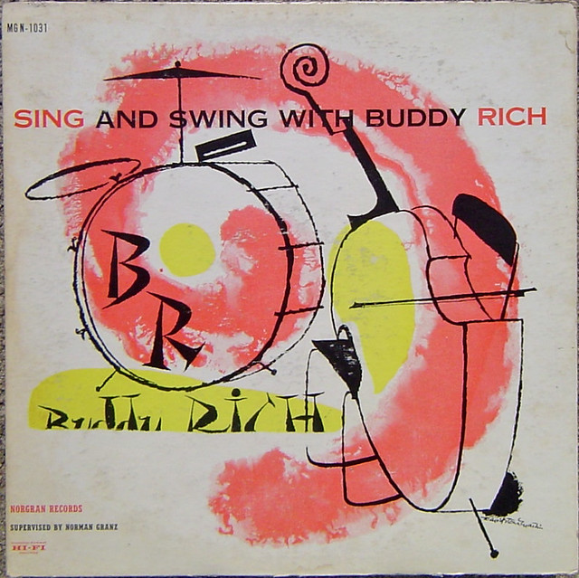 Sing and Swing With Buddy Rich LP