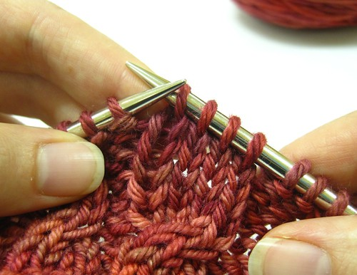 Knitting Cables Without Cable Needle : Cabling without a cable needle knitting to stay sane