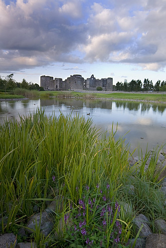 park ireland sky lake castle water clouds landscape roscommon