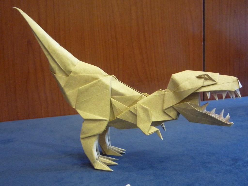 origami t rex joseph wu