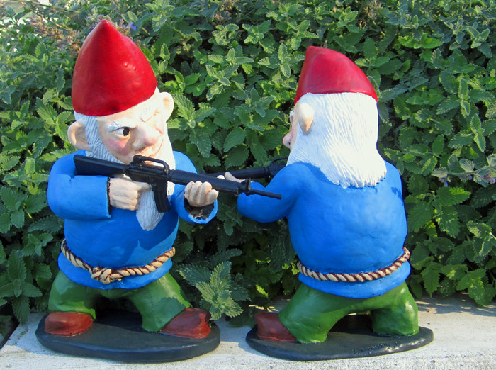 When my brain leaks the drops drip here time to unload for Combat gnomes for sale