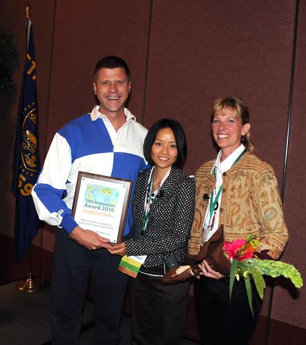 Ron Wins Innovation Award @ 2010