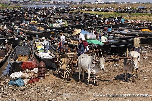 Myanmar experience : Nam Pan market