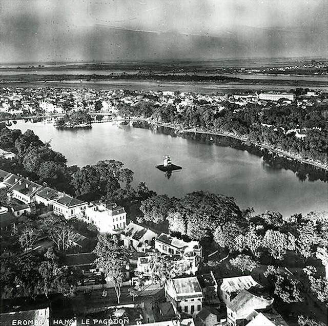 Vue general de Hanoi