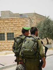 Soldiers in Hebron