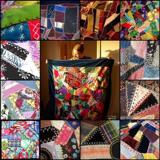 TILT #7:  Crazy Quilts
