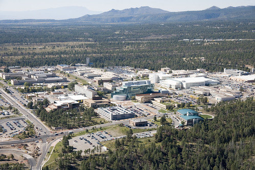 Aerial View of Los Alamos National Laboratory - 2