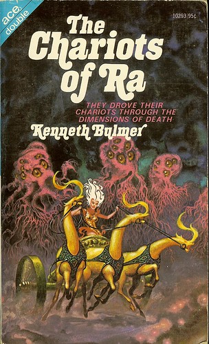 Kenneth Bulmer - The Chariots of Ra - Ace Double 10293 - Kelly Freas
