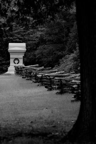 blackandwhite bw blackwhite tennessee iowa civilwar battlefield 1862 shiloh splitrail battlefields hornetsnest blancetnoir