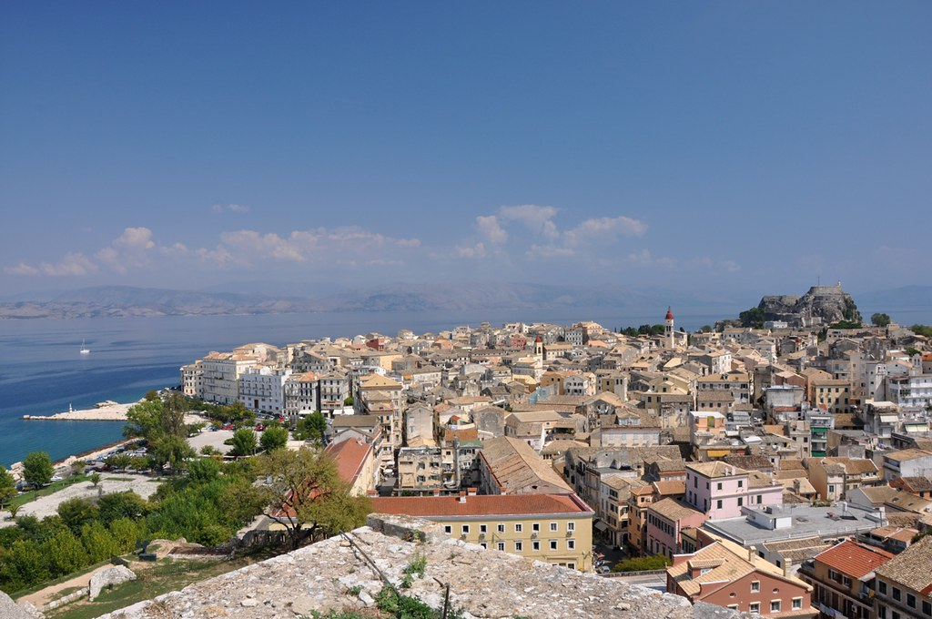 The Old Town of Corfu