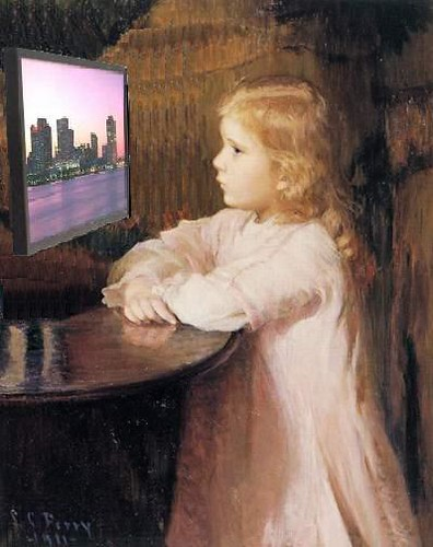 The Viewer, after Lilla Cabot Perry