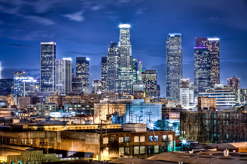 california ca city longexposure urban skyline night canon landscape photography la losangeles los downtown cityscape angeles joshua cityscapes 5d hdr gunther mkii joshuagunther